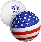 American Flag Stress Balls